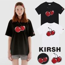 KIRSH★韓国☆日本未入荷★BIG CHERRY GLITTER T-SHIRT IH 2色