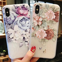 iPhoneXS iPhoneX iPhone8 iPhone7Plus おしゃれ 花柄 かわいい