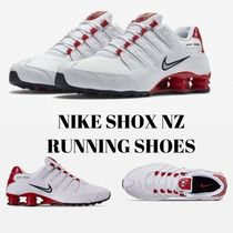 〓超人気!!〓NIKE SHOX NZ RUNNING SHOES《378341 110》19.01