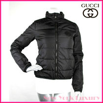 GUCCI★素敵!Black Nylon Down Feather Puffer Jacket
