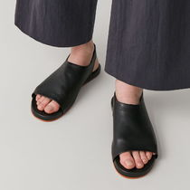 """""""COS""""SANDALS WITH ELASTIC DETAIL BLACK"""