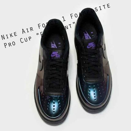 """Nike Air Force 1 Foamposite Pro Cup """"Eggplant""""メタリック"""