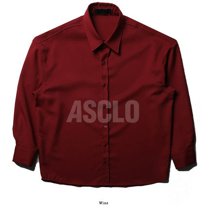 ASCLO シャツ ASCLO BT Over Cuffs Shirts (5color) MH253 / 追跡付(12)