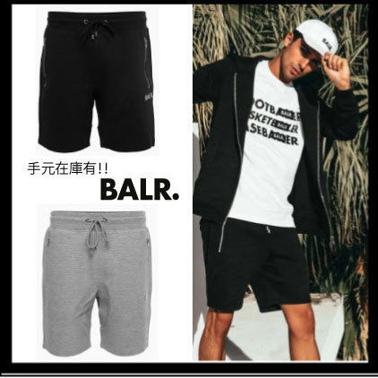 BALR ハーフ・ショートパンツ ※SALE※BALR./Q-SERIES CLASSIC SWEAT SHORTS/送関込