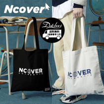 ncover(エンカバー) トートバッグ NCOVER Authentic logo eco bag NE898 / 追跡付