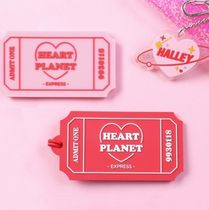 韓国 【Be on D】HEART PLANET TICKET NAMETAG ネームタグ