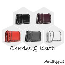 ■Charles&Keith■CHAIN DETAIL CLUTCH■チェーン クラッチ 5色