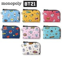 monopoly(モノポリー) パスケース ★monopoly×BT21★BT21 POP CARD POCKET 全7種【追跡送料込】