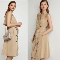 BCBGMAXAZRIA ★ Trench Flared Dress ★ トレンチワンピ