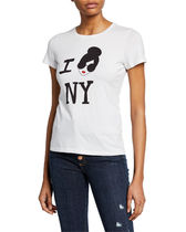 SALE★Alice+Olivia★StaceFace I Love NY  Cotton Top