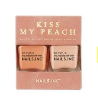"【NAILS INK】Nail Polish Duo ""Kiss My Peach""/ ネイルズインク"