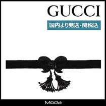 GUCCI (グッチ)ビーズ付き ネックレス〈国内発送・関税込〉