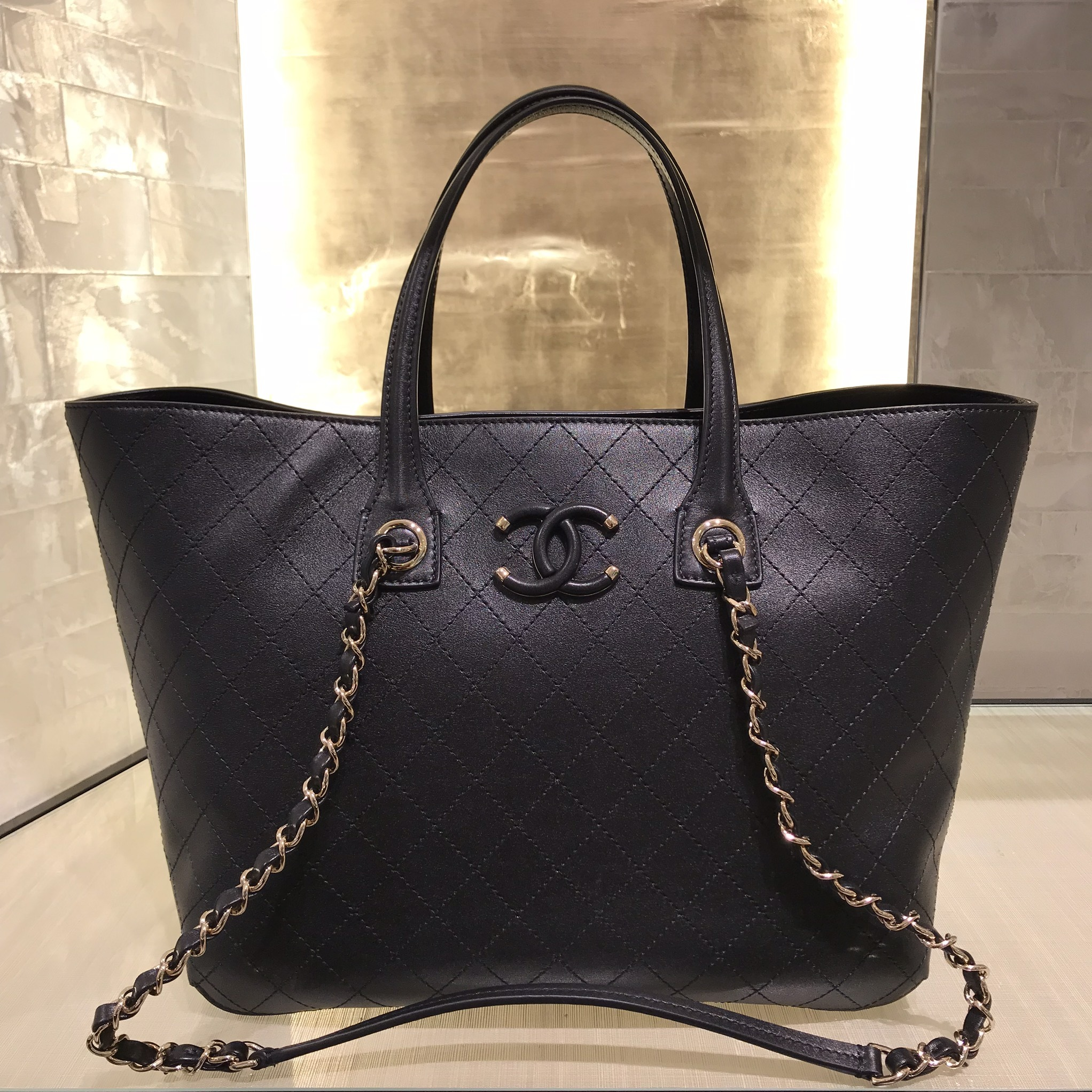 2019 SS ★CHANEL★CC CASE large double handle NS tote (CHANEL/トートバッグ) 43413033