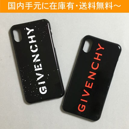GIVENCHY スマホケース・テックアクセサリー GIVENCHY ロゴ iPhone case