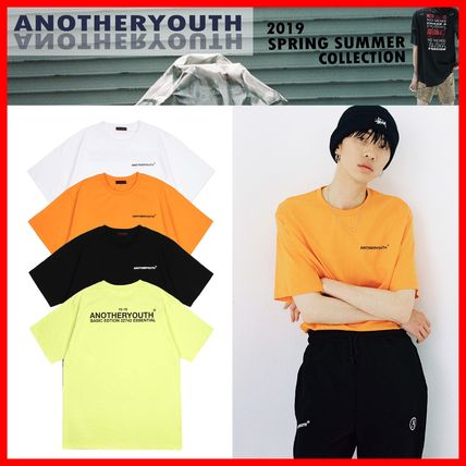 ANOTHERYOUTH Tシャツ・カットソー ☆韓国の人気☆【ANOTHERYOUTH】☆Basic Logo T-Shirts☆4色☆
