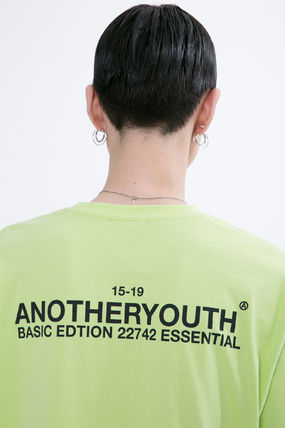 ANOTHERYOUTH Tシャツ・カットソー ☆韓国の人気☆【ANOTHERYOUTH】☆Basic Logo T-Shirts☆4色☆(4)
