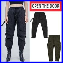 OPEN THE DOOR(オープンザドア) パンツ [OPEN THE DOOR]  utility tech pants (2色)-UNISEX / 追跡付