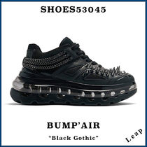 "【SHOES 53045】入手困難 ☆ 激レア BUMP'AIR ""Black Gothic"""