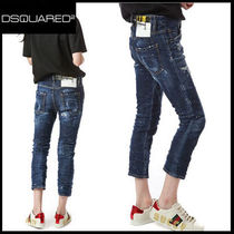 D SQUARED2(ディースクエアード) デニム・ジーパン (ディースクエアード) COOL GIRL CROPPED JEAN 72LB0180