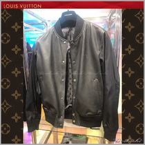 ◆Louis Vuitton 19SS◆REVERSIBLE JACKET IN MIXED FABRIC◆BLK