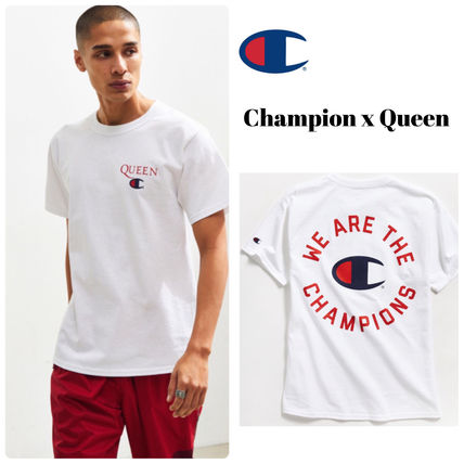 Champion X Queen★ We Are The Champions Tシャツ