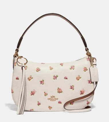NEW! Coach (コーチ) Sutton Crossbody With Floral Print