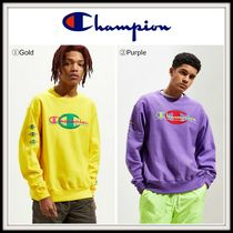 NEW!! ☆CHAMPION☆ Pop Colors Crew Neck Sweatshirt