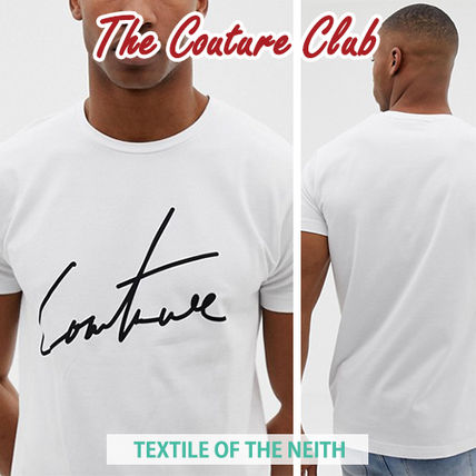 ◆The Couture Club◆半袖*ロゴTシャツ 白