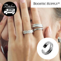 BOOSTIC SUPPLY 18K WHITE GOLD PLATING RING MH266 / 追跡付