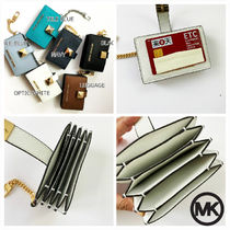 即発 Michael Kors★KARLA ACCORDION CARD CASE*バッグに付け
