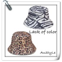 ■Lack of color■Wave Bucket - Zebra, Leopard■ 新作♪