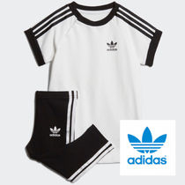 adidas☆2−4yrs☆KIDS ORIGINALS 3STRIPES DRESS SET☆