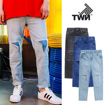 TWN★T-FRAME CROP DENIM PANTS ‐YMLP3167 3カラー