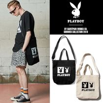 SAINTPAIN★PBXSP OG LOGO CROSS TOTE BAG コラボトートバッグ