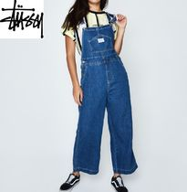 【STUSSY】デニムオーバーオールWellington Wide Leg Overall