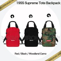 19SS /Supreme Tote Backpack 2Way トート バックパック 3色