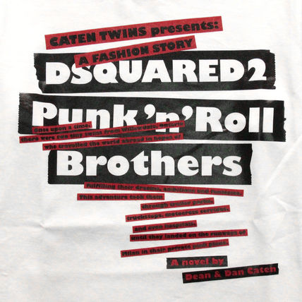 D SQUARED2 Tシャツ・カットソー 【即発送】ディースクエアード ロゴプリント T-シャツ S75GC0985(4)