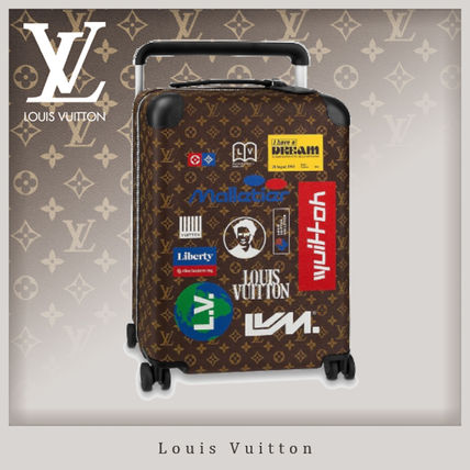 Louis Vuitton スーツケース 19SS 国内買付 Louis Vuitton ホライゾン 55 機内持込可☆ロゴ