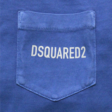 D SQUARED2 Tシャツ・カットソー 【即発送】ディースクエアード ポケット ロゴT-シャツ S74GD0292(4)
