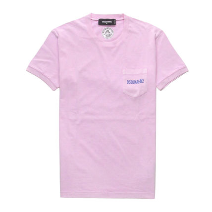 D SQUARED2 Tシャツ・カットソー 【即発送】ディースクエアード ポケット ロゴT-シャツ S74GD0292(6)