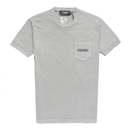 D SQUARED2 Tシャツ・カットソー 【即発送】ディースクエアード ポケット ロゴT-シャツ S74GD0292(10)