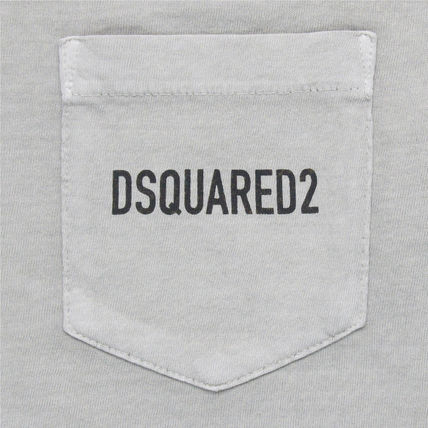 D SQUARED2 Tシャツ・カットソー 【即発送】ディースクエアード ポケット ロゴT-シャツ S74GD0292(12)