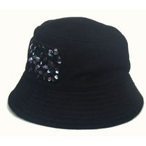 HAT Attack(ハットアタック) ハット 即発Hat Attack High crown bucket w/スパンコールFML89