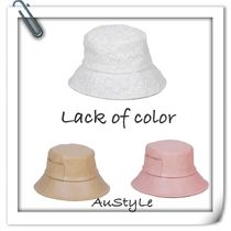 ■Lack of color■Wave Bucket - Lace,Camel,Pink■ 新作♪ 3色