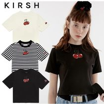 ★KIRSH★HEART CHERRY CROPPED T-SHIRT 全3色【追跡送料込】
