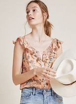 Dolan Left Coast Wildflower Cropped Top