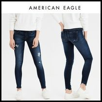☆American Eagle☆ Denim Distro Long Jagging Pants