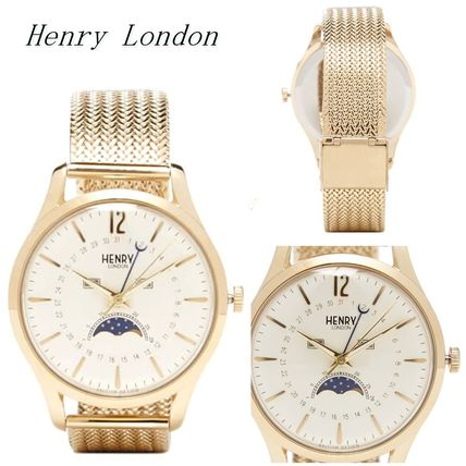 575s Henry London Westminster Moon Phase Watch