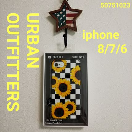 Urban Outfitters スマホケース・テックアクセサリー Urban Outfitters iphone8/7/6 ソフト ひまわり柄 即発 50751023(2)