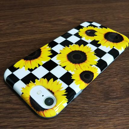 Urban Outfitters スマホケース・テックアクセサリー Urban Outfitters iphone8/7/6 ソフト ひまわり柄 即発 50751023(7)